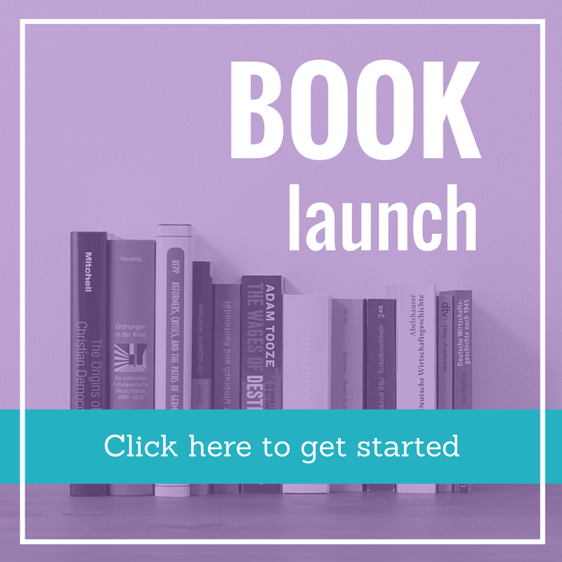 book launch support package