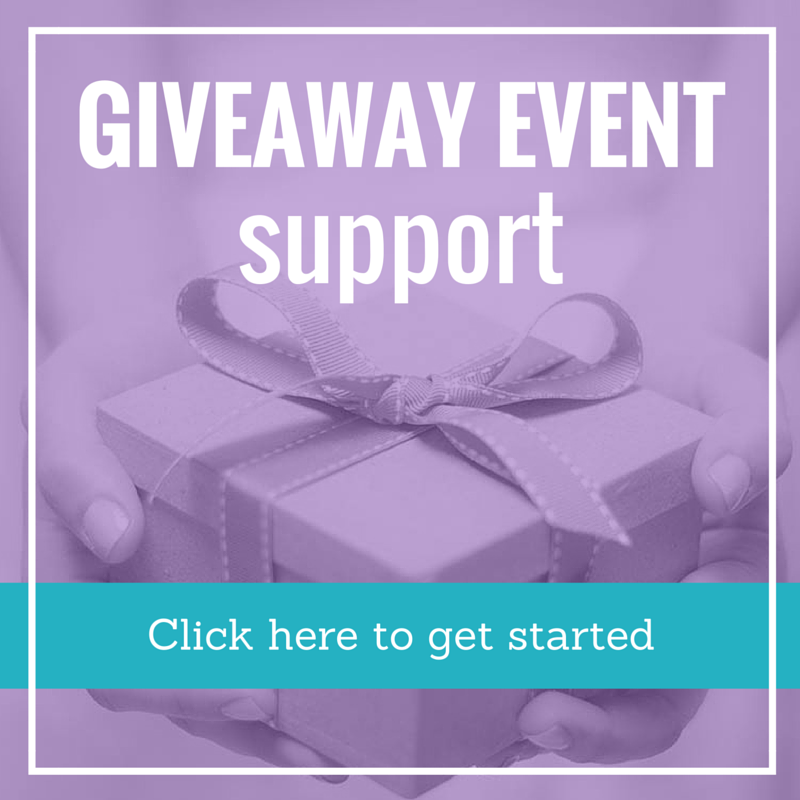 giveaway event support package